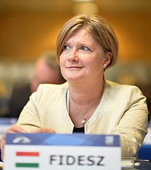 Kinga Gál, EPP Congress Madrid - 21 October 2015.jpg