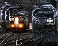 Kintetsu Osaka-Namba Station siding 2007.jpg