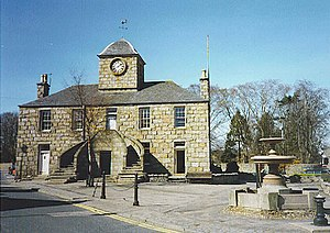 Kintore, Aberdeenshire - The Town House, Kintore.