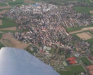 Kirchzarten - Aerial view of Kirchzarten