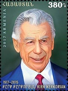 Kirk Kerkorian Armenian-American businessman, investor, and philanthropist. He was the president and CEO of Tracinda Corporation.