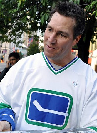 Vancouver Canucks - Kirk McLean was a key member of the Canucks' 1994 Stanley Cup run.
