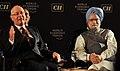 Klaus Schwab and Prime Minister Manmohan Singh.jpg