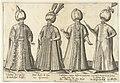 Kleding van Ottomaanse hoogwaardigheidsbekleders rond 1580 Traditionele kleding van over de hele wereld rond 1580 (serietitel), RP-P-1896-A-19127.jpg