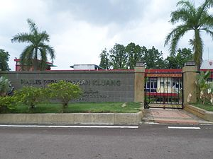Kluang (town) - Kluang Municipal Council