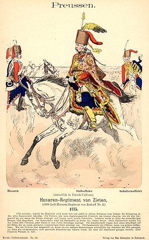 Zieten Hussars - Image: Knötel I, 13