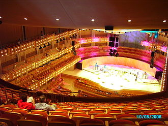 Adrienne Arsht Center for the Performing Arts - Interior of the concert hall