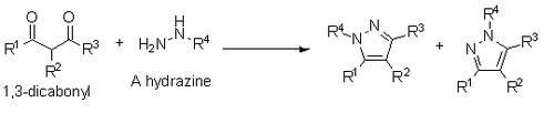 Knorr pyrazole synthesis