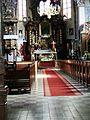 Kościół ewangelicki, ob. rzym.-kat. par. pw. Świętych Piotra i Pawła, wnętrze (1).JPG