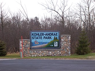 Kohler-Andrae State Park - Image: Kohler Andrae State Park Wisconsin