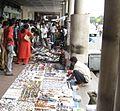 Kolkata Chowringhee Footpath2.jpg