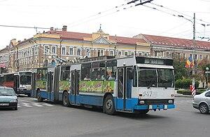 DAC (vehicle manufacturer) - Image: Kolozsvari trolibusz DAC
