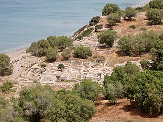 Mikronisi - Archaeological site of Kommos