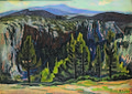 Konstantinos Maleas - Aetoliko Landscape, 1921.jpg