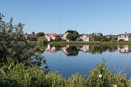 Skt. Jørgens Sø in Copenhagen, Denmark
