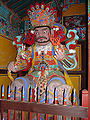 Korea-Busan-Beomeosa 6216-07 Guardian of the West.JPG