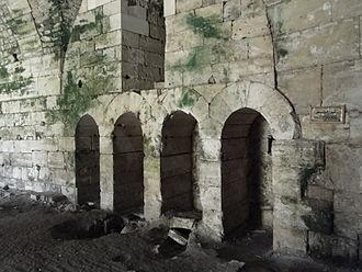 Latrine - Latrines of Krak des Chevaliers in Syria