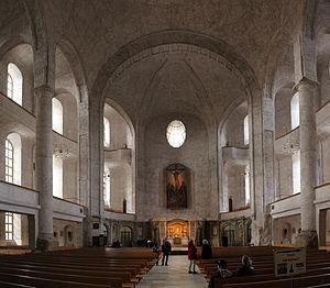 Kreuzkirche, Dresden - Interior in 2011