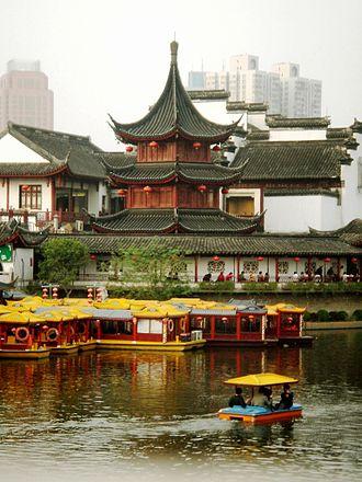 Nanjing Fuzimiao - Kuiguang/Kuixing Pavilion (魁光阁/魁星阁)