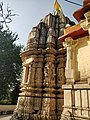 Kumbharia Mahadev Temple, Left side view.jpg