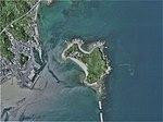 Kuro-shima Island in Usuki City, Oita Prefecture. Aerial photograph.2007.jpg