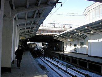 Kutuzovskaya (Filyovskaya line) - Kutuzovskaya