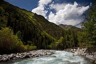 Ala Archa National Park - Image: Kyrgyzstan Ala Archa National Park 01