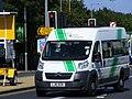 LJ61 BZN Mercedes minibus, Hillingdon Community transport, Paralympic games. (8225418814).jpg