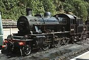 LMS 2MT 2-6-0 46443, Bewdley, SVR, 20.08.09 222796 015 21 (10256718285).jpg