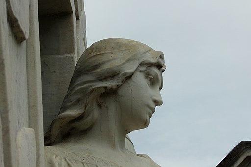 La Recoleta Cemetery-Rufina Cambaceres beautiful statue
