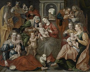 The Family of Saint Anne