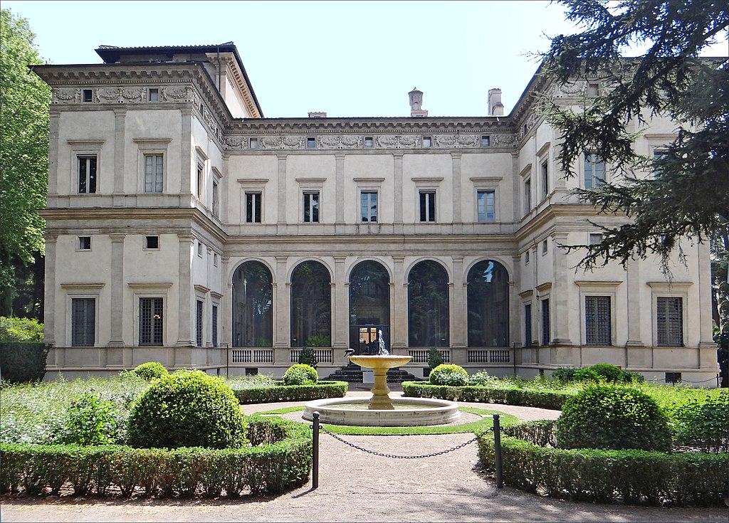 Rome, villa, Farnesina,
