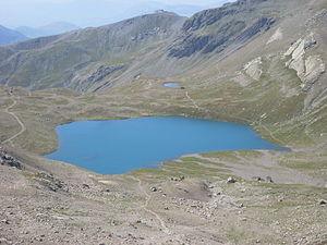 Lac des Estaris - Image: Lac des Estaris