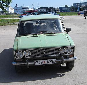 "A VAZ-2103 ""Zhiguli"", also known as Lada 1500...."