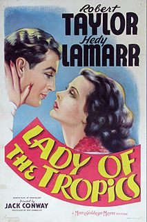 <i>Lady of the Tropics</i> 1939 film by Jack Conway