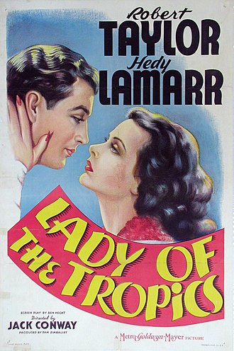 Lady of the Tropics - Theatrical Film Poster