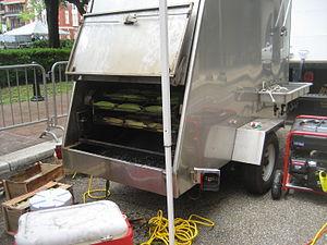 Corn roaster - A commercial corn roaster