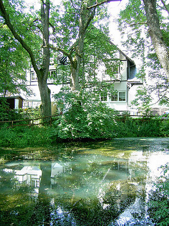 Lahn - Source of the Lahn at the Lahnhof