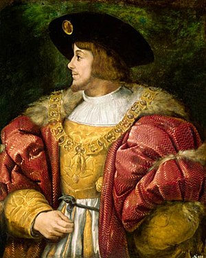 Louis II of Hungary - Louis II painted by Titian