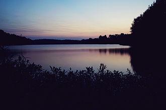 Lake Conway - Image: Lake Conway Sunset, Faulkner County, AR