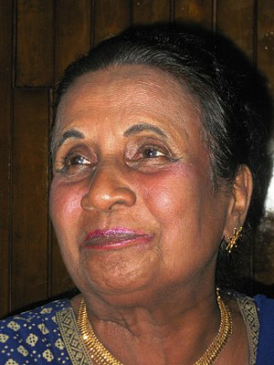 George Rajapaksa - Mrs.Lalitha Rajapakse (wife of George Rajapaksa)