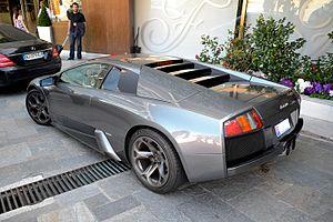 Lamborghini Murciélago - Lamborghini Murcielago coupe