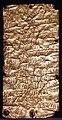 Lamine d'oro in lingua etrusca e fenicia con dedica di un luogo sacro a pyrgi, 510 ac ca. 02.jpg
