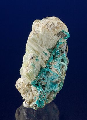Susannite - Susanite with macphersonite and lanarkite from the Susanna Mine, Leadhills