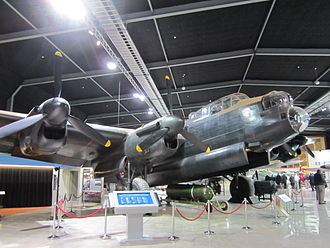 Museum of Transport and Technology - An Avro Lancaster bomber at MOTAT 2