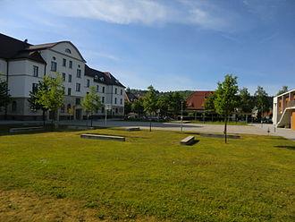Landesgymnasium für Hochbegabte Schwäbisch Gmünd - The school building