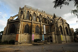 Teddington - St Alban's Church, now the Landmark Arts Centre