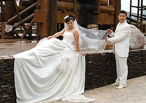 Deutsch: Wedding in Lanzhou, China