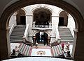 Lausanne, Palais de Rumine et Musée cantonal de géologie, escaliers intérieurs.jpg