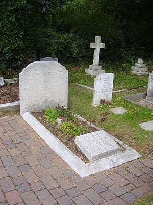 Moreton, Dorset - Lawrence's grave